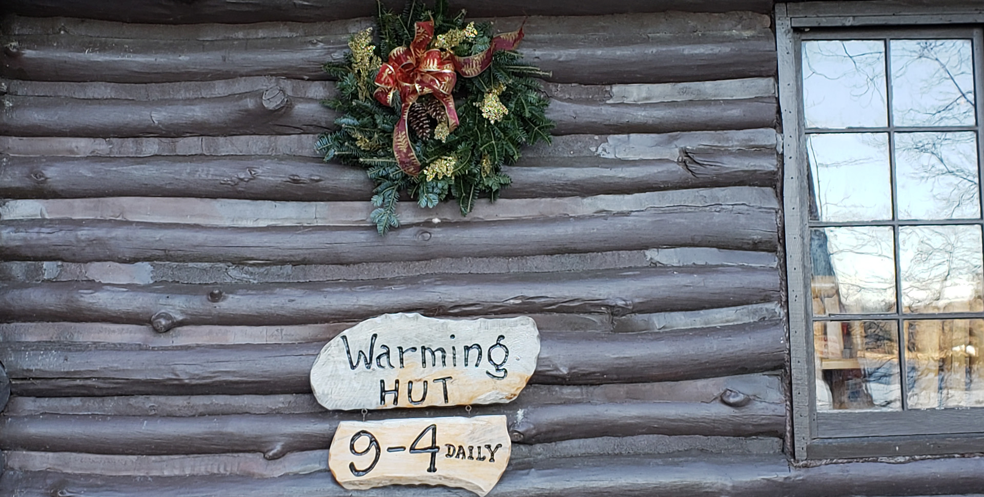 Warming Hut Open Daily